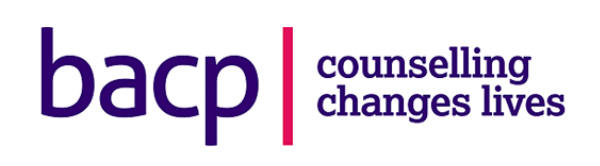 BACP logo Counselling changes lives